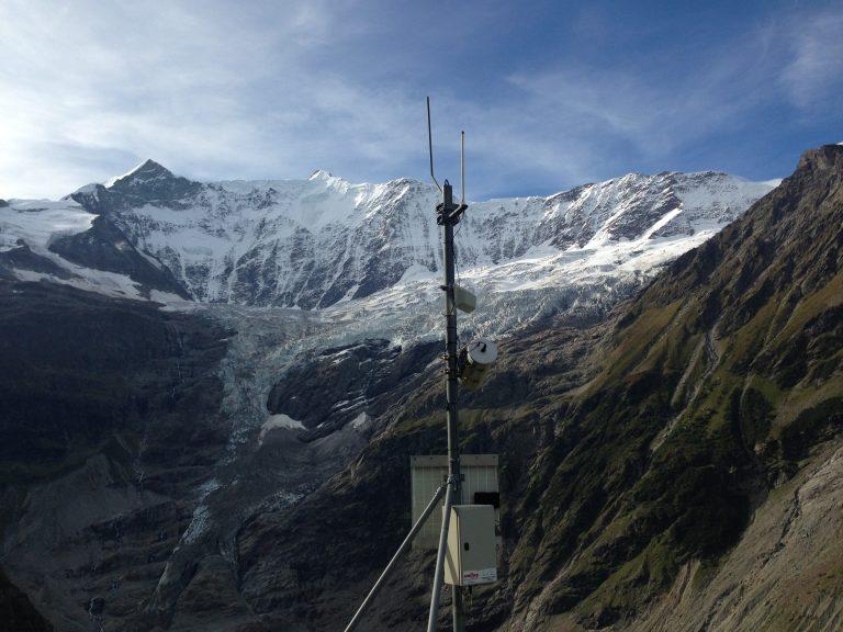 Gletscherüberwachung mit Kamera