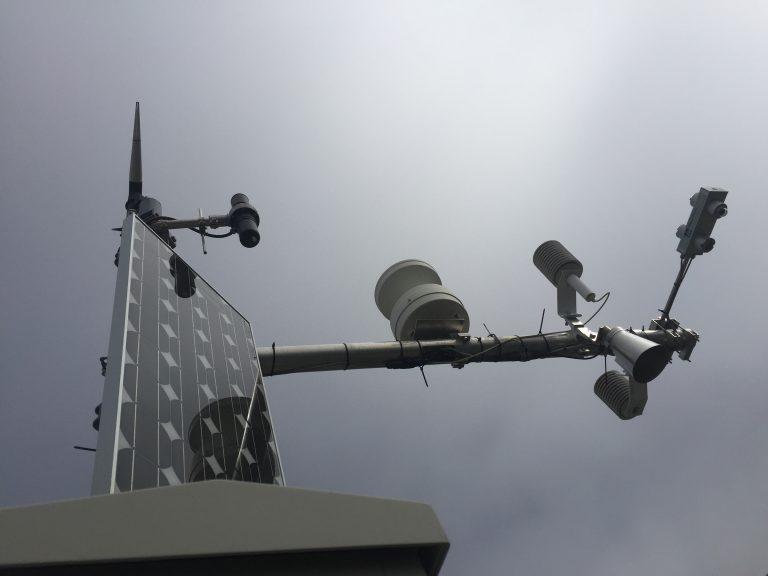 Meteosensoren PERMOS-Station Ritigraben VS